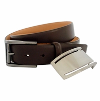 Nike Club Inspired 2-in1 Buckle Golf Belt Brown 1110502