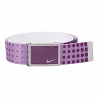 Nike Dot Print Web Belt Bright Grape