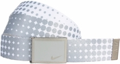 Nike Golf Sport Women's Dot Print Web Belt Base Grey 13088254