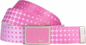 Nike Golf Sport Women's Dot Print Web Belt Red Violet 13088264