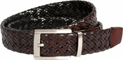 Nike Golf Tour Men's Braided G-Flex Reversible Leather Belt Black/Brown 1119221