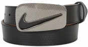Nike Laser Icon Black Enamel Buckle 1109501 Belt