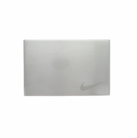 Nike Swoosh Etched Brushed Metal Buckle