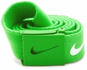 Nike Tech Essentials Web Belt - Neon Green 1116662