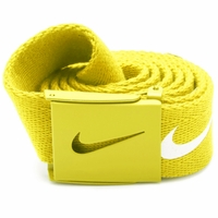 Nike Tech Essentials Web Belt - Neon Yellow 11166204