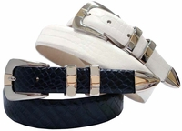 Oro Leather Designer Belt  $32.50