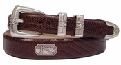 Palm Springs Leather Mens Golf Belt