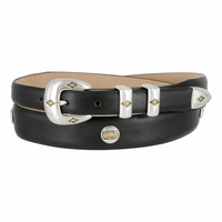 Parkhurst Italian Smooth Leather Conchos Belt