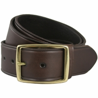 "Penn's Gold Men's 100% Leather Work Uniform Belt 1 3/4"" Wide"