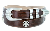 Poker Club Men's Golf Leather Belt