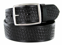 "10854 Reno Basketweave Men's Work Uniform Belt 1 3/4"" Wide-Black $27.95"