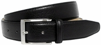 Richmond Men's Genuine Leather Dress Belt Black