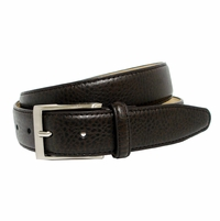 Richmond Men's Genuine Leather Dress Belt Brown