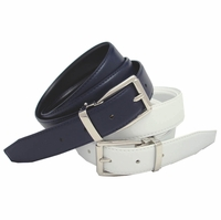 Robertson Men's Dress Leather Belt Reversible Belt