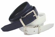 Robertson Men's Dress Leather Belt Reversible Belt $9.99