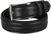 "Rome Black Genuine Leather Dress Belt 1-1/8"" Wide $29.95"