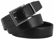 "RS7 Reversible Smooth Leather Dress Belts (1-3/8"" or 35mm)"