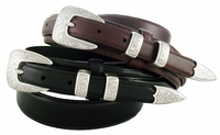 S-5527 Oil Tanned Leather Ranger Belt