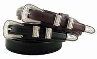 S-5664 Oil Tanned Leather Ranger Belt