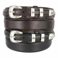 S5513 Oil Tanned Leather Ranger Belt