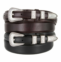 S5664 Oil Tanned Leather Ranger Belt