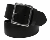 "Sam1303 Men's Leather Work Belt Uniform Belt 1 3/4"" Wide"