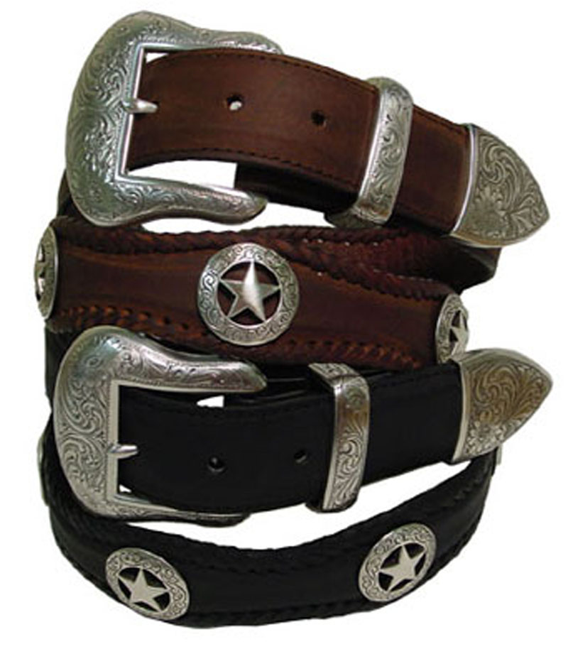 san antonio western leather belts 1 5 quot wide