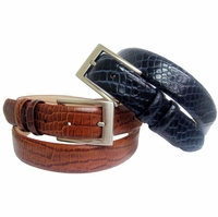 SB Leather Men's Dress Belt