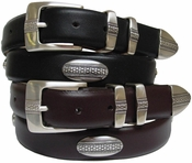 Scarsdale Classic Leather Designer & Golf Belt