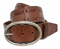 "SF1084111 Full Grain Leather Belt 1 3/4"" Wide $24.50"