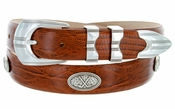 SilverWood Italian Leather Golf Conchos Belt $39.50
