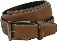 "Sonoma Men's Genuine Leather Casual Dress Belt 1-1/4"" Wide"