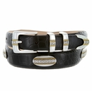 St Andrews Gold  Mens Leather Designer Dress and Golf Belt