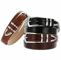 St. Marks Leather Dress Designer Belt