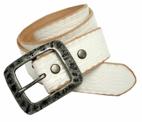 Standard Western Tooled Full Grain Leather Belt $27.50