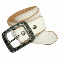 Standard Western Tooled Full Grain Leather Belt