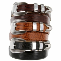 Stanley Italian Leather Designer Dress Belt