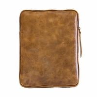 Tablet eBook iPad Kindle eReader Cowhide Leather Case - Vintage Tan