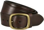 "Tennessee Gold Men's Leather Work Belt Uniform Belt 1 3/4"" Wide - Brown"