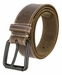Timberland 38mm Edge Stitch Roller Buckle Belt Brown1