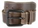 Timberland 38mm Edge Stitch Roller Buckle Belt Brown3