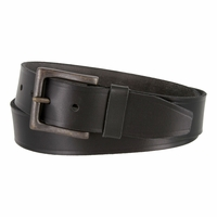 Timberland 40mm Oil Tanned Jean Belt Black