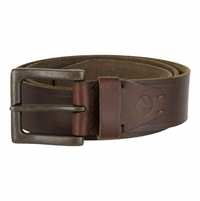 Timberland 40mm Oil Tanned Jean Belt Brown