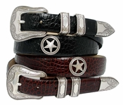 Tombstone Men's Star Conchos Western Leather Belt $29.50