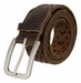 Tulliani Diamond Tooled and Perforated Belt - Brown1