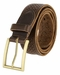 Tulliani Floral Perforated Belt - Brown2