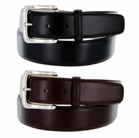 "Valley View Men's Designer Dress Belt 1-1/2"" Wide Smooth Leather"