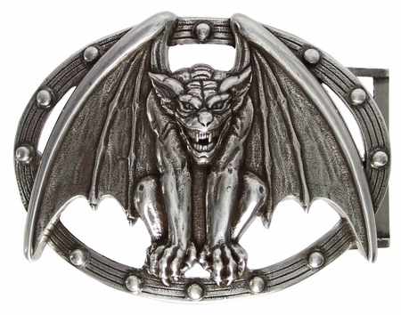 100171 Vampire Bat Belt Buckle