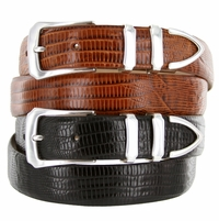 Vin's Italian Calfskin Leather Designer Dress Belt