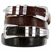 Vince Mens Designer Fashion Leather Belts